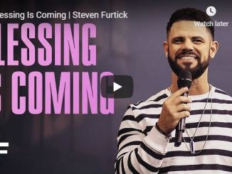 Pastor Steven Furtick Sermon - Blessing Is Coming - May 2020