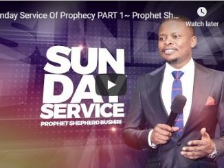 Prophet Shepherd Bushiri Sunday Live Service May 17 2020