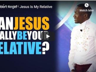 Prophet Uebert Angel Sermon - Jesus Is My Relative