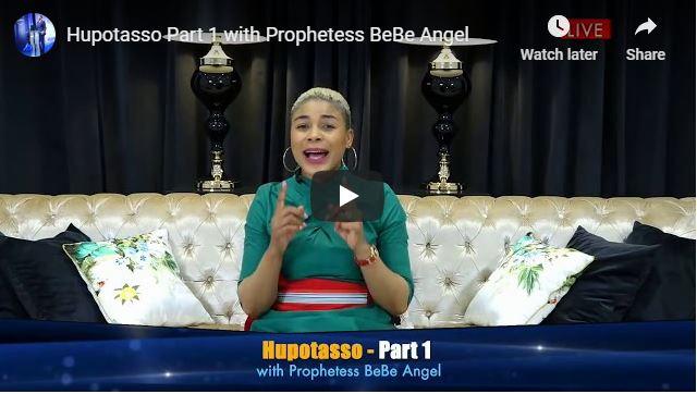 Prophetess BeBe Angel Message - Hupotasso - May 2020