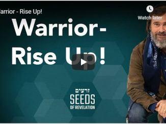 Rabbi Schneider Sermon - Warrior - Rise Up - May 2020