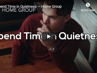 Rick Renner and Home Group - Spend Time in Quietness