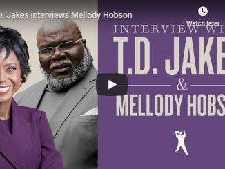 Bishop TD Jakes interviews Mellody Hobson - June 2020
