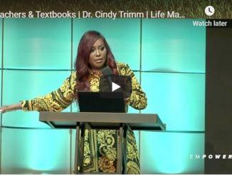 Cindy Trimm Message - Teachers & Textbooks - June 2020