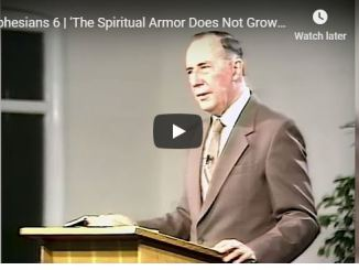 Derek Prince - The Spiritual Armor Does Not Grow On You - June 2020