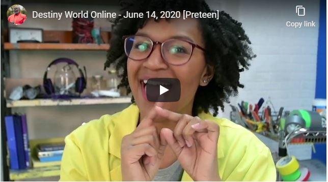 Destiny World Online June 14 2020 With Pastor Cora Jakes Coleman