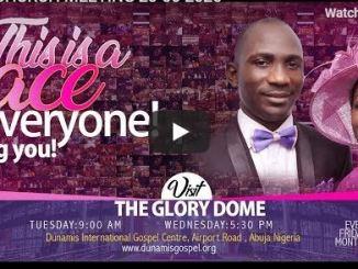 Dunamis Church Sunday Live Service June 21 2020