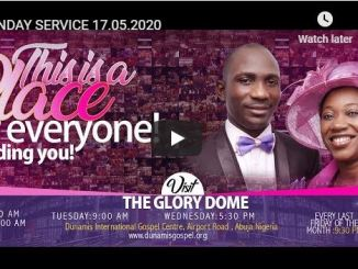 Dunamis Church Sunday Live Service June 7 2020