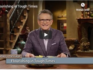 George Pearsons - Flourishing in Tough Times - June 1 2020