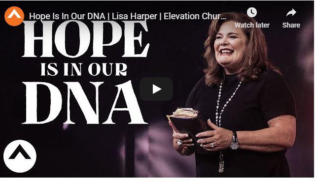 Lisa Harper Sermon - Hope Is In Our DNA - June 28 2020