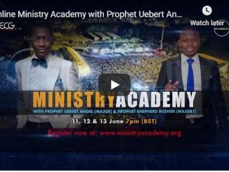 Online Ministry Academy with Uebert Angel and Shepherd Bushiri 2020