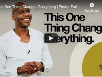 Pastor Earl McClellan - This One Thing Changes Everything - June 2020