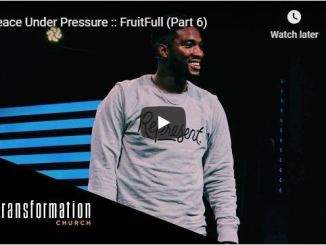 Pastor Michael Todd - Peace Under Pressure - June 2020