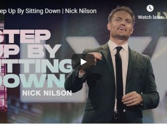 Pastor Nick Nilson - Step Up By Sitting Down - June 25 2020
