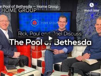 Rick Renner, Paul & Joel Sermon - The Pool of Bethesda - June 2020