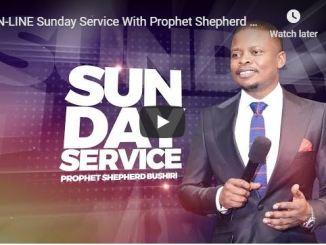 Shepherd Bushiri Sunday Live Service June 14 2020