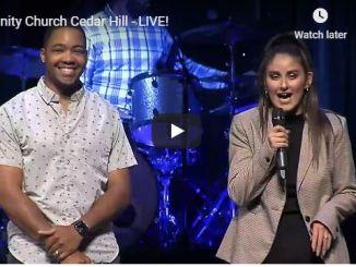 Trinity Church Cedar Hill Sunday Live Service June 21 2020