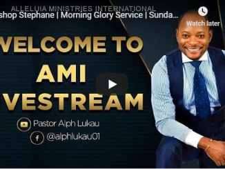 Alleluia Ministries Sunday Live Service July 19 With Pastor Alph Lukau