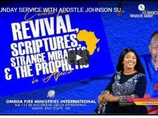 Apostle Johnson Suleman Sunday Live Service July 5 2020