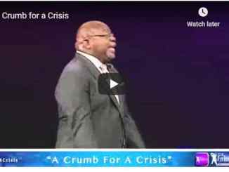 Bishop TD Jakes Sermon - A Crumb for a Crisis - July 2020