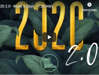 Church By The Glades Sunday Live Service July 12 2020