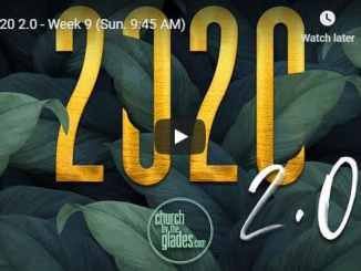 Church By The Glades Sunday Live Service July 19 2020