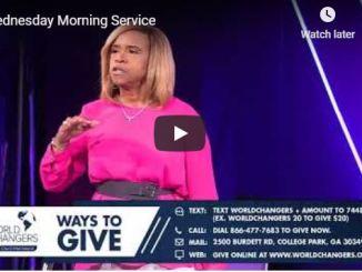 Creflo Dollar Wednesday Morning Service July 1 2020