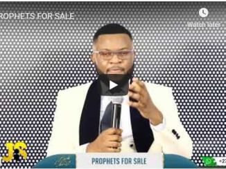 Jay Israel Senior Sermon - Prophets For Sale - July 2020