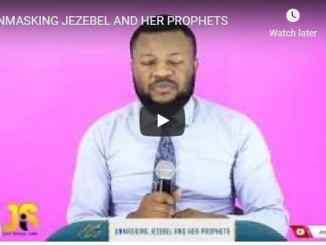 Jay Israel Sermon - Unmasking Jezebel And Her Prophets - July 19 2020