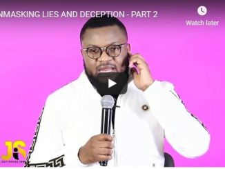 Jay Israel Sermon - Unmasking Lies And Deception - July 2020
