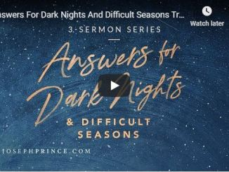 Joseph Prince - Answers For Dark Nights And Difficult Seasons Trailer