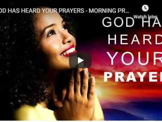 Morning Prayer - Pastor Sean Pinder - God Has Heard Your Prayers