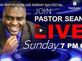 Pastor Sean Pinder Sunday Live Service July 12 2020
