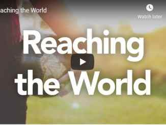 Rabbi Schneider Sermon - Reaching the World - July 22 2020