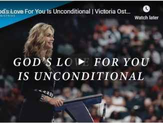Victoria Osteen - God's Love For You Is Unconditional - July 21 2020