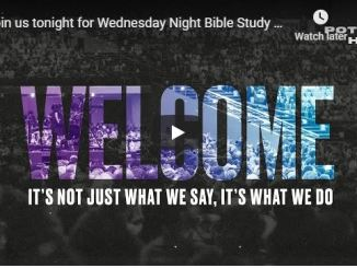 Wednesday Night Bible Study at The Potters House of Dallas - TD Jakes
