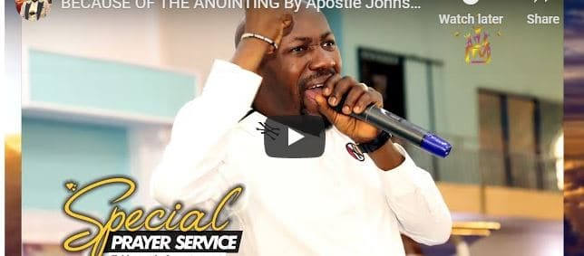 Apostle Johnson Suleman Sunday Live Service August 9 2020