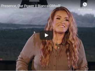 Bianca Olthoff - His Presence, Our Power - August 2020