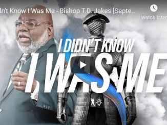 Bishop TD Jakes Sermon August 11 2020
