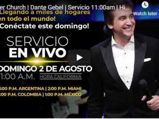Dante Gebel Sunday Live Service August 2 2020 In River Church