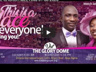 Dunamis Church Sunday Live Service August 2 2020 With Paul Enenche