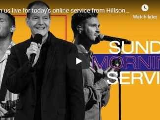 Hillsong Church Sunday Live Service August 23 2020