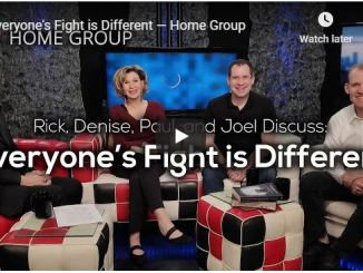 Home Group Sermon - Everyone's Fight is Different - August 2020
