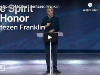 Jentezen Franklin Sermon - The Spirit of Honor - August 2 2020