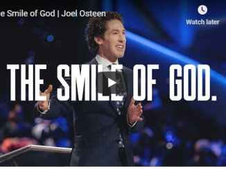 Joel Osteen Sermon - The Smile of God - August 5 2020