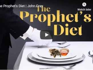 John Gray Sermon - The Prophet's Diet - August 2020