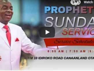 Living Faith Church Sunday Live Service August 2 2020 - David Oyedepo