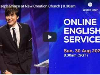 New Creation Church Sunday Service August 30 2020