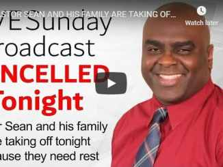 Pastor Sean Pinder Sunday Live Service August 23 2020