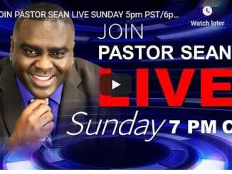 Pastor Sean Pinder Sunday Live Service August 30 2020